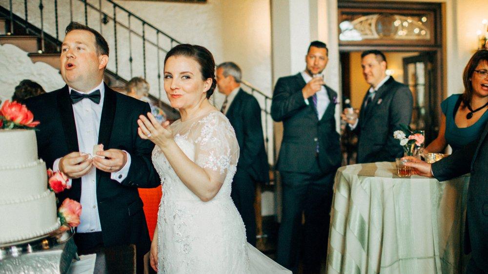 The Woman's Club of Minneapolis wedding reception