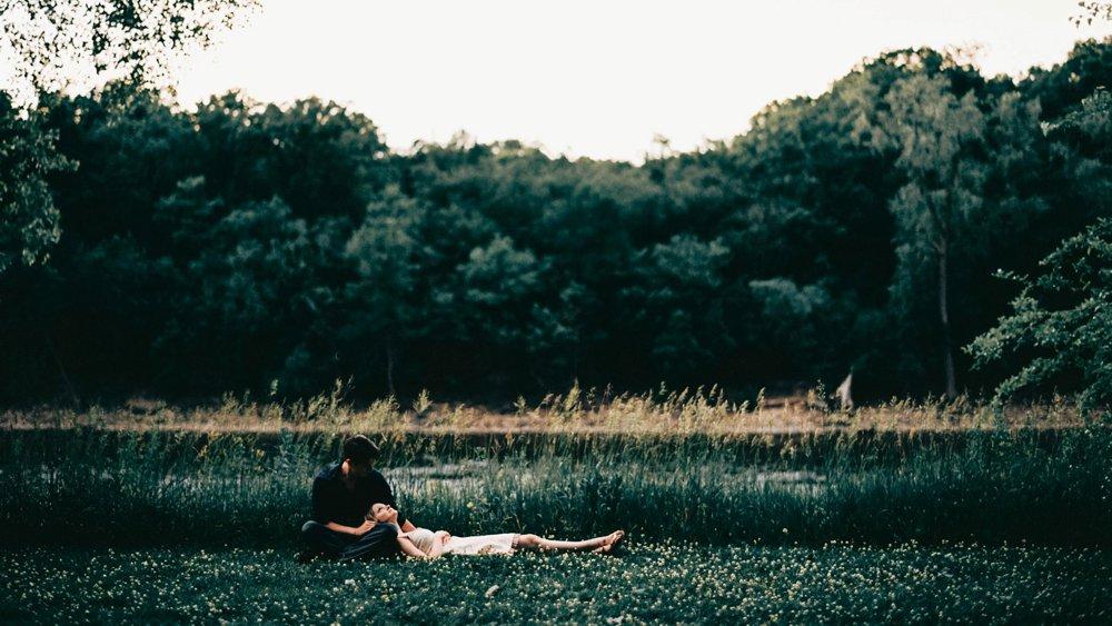A relaxed moment at Hidden Falls Regional Park.