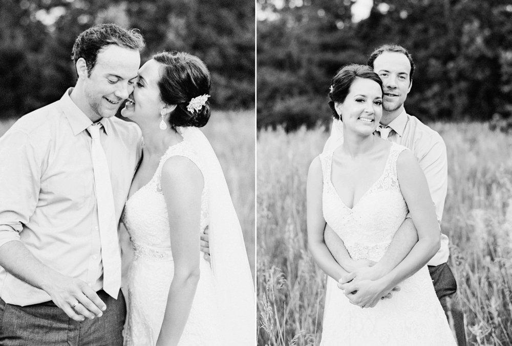 MN wedding black and white