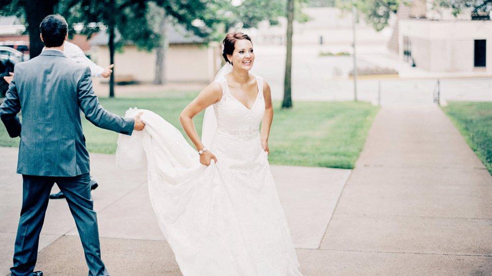 Bride in Little Falls MN