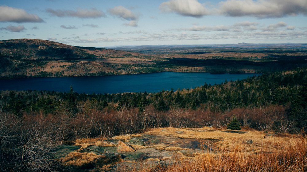 A breathtaking view of Acadia National Park.