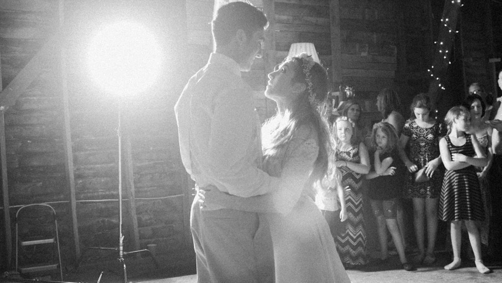 Having a moment during this First Dance.