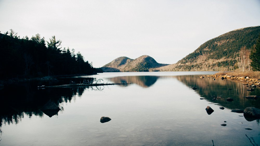 Serene beauty at Acadia National Park in Maine.