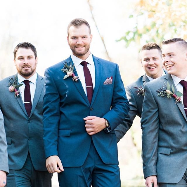 GQ Style 😁✌️️👏 . . #weddingday #groom #groomsmen #justmarried #weddingphotography #weddingpictures #weddingphoto #weddings #weddingphotographer #weddingphotos #gqstyle #minnesota #mnwedding #filmweddingphotographer #sonya7rii #sonyalpha