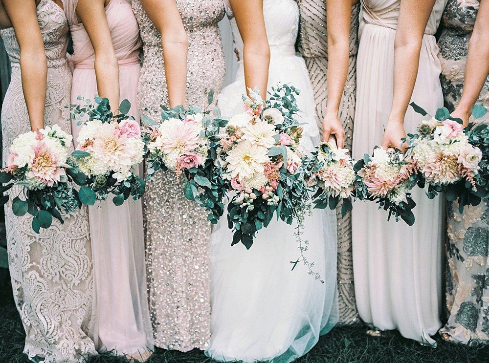 Blush tones. Floral by Artimesia Events, Minneapolis.