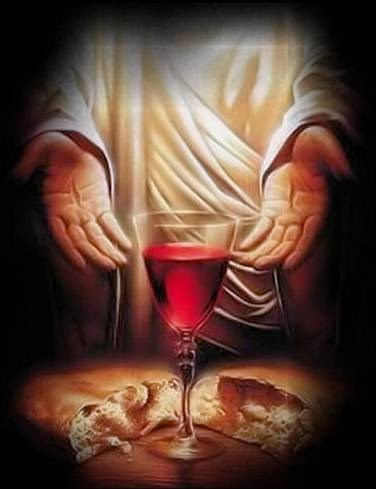 My flesh is real food and my blood is real drink~ John 6:51-58 -