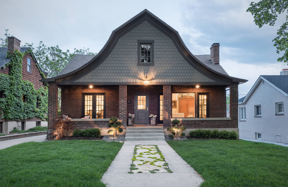The curb appeal of this 1920's bungalow is on point in so many ways