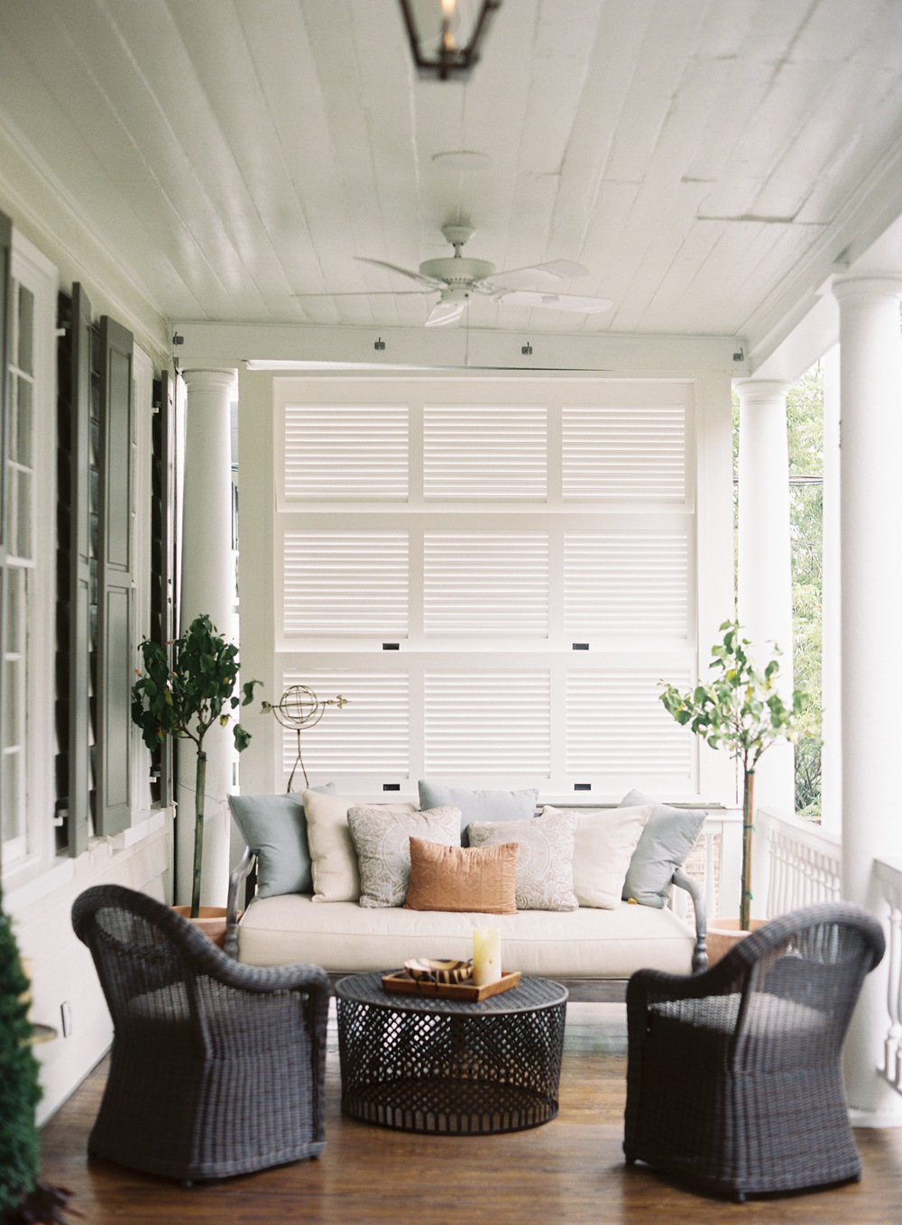 This darling veranda makes the case for outdoor living.