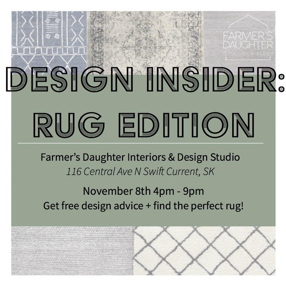 DESIGN INSIDER: Rug Edition