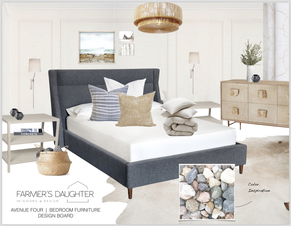 DESIGN BOARD - Master Bedroom