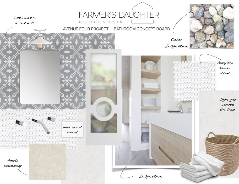 DESIGN BOARD - Master Ensuite