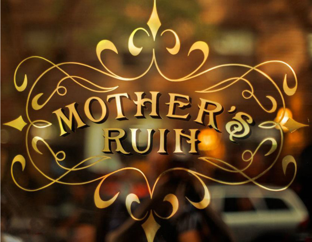 "Monday, November 12th at 6pm —  Mother's Ruin from NYC back to ""break the rules"" here at The Violet Hour. It'll be business as usual in the front and party in the back from 6 til close."
