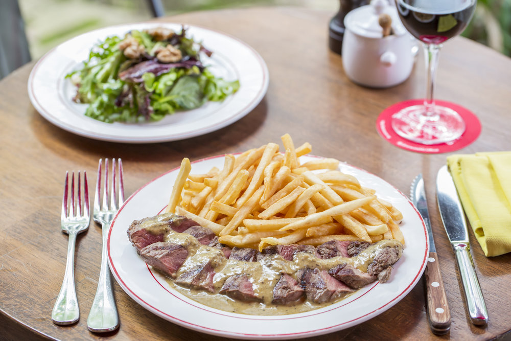 L'Entrecôte The Steak and Fries Bistro - 3-COURSE FESTIVE MENUFOR 2 (1 NOV - 30 DEC)Complimentary dessert of the day (worth $14++) with every order of 3-course festive menu for 2MENU