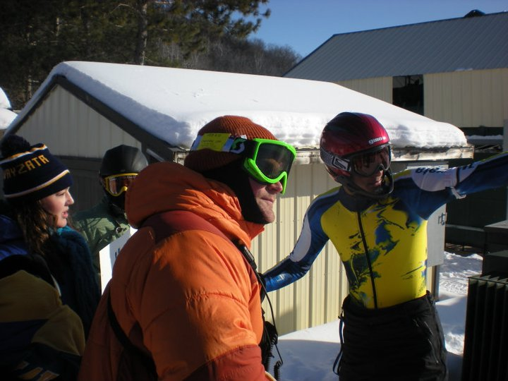 Skiing at Regionals by Giulia