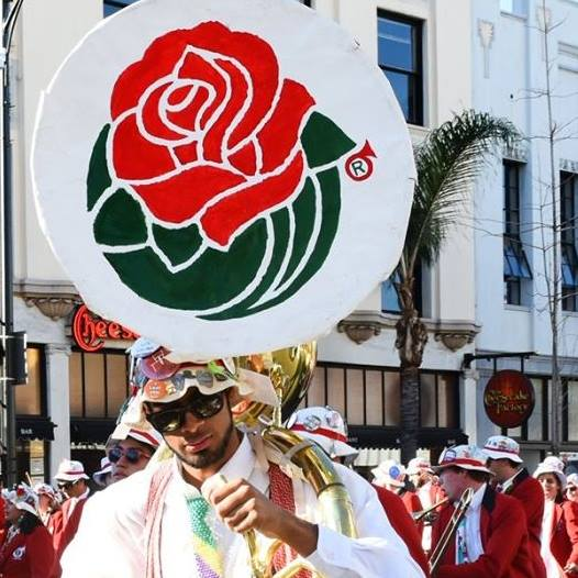 Marching in the Rose Parade (for the third time)
