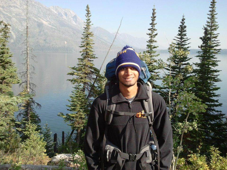 Hiking at Jenny Lake by Ravi Ganti