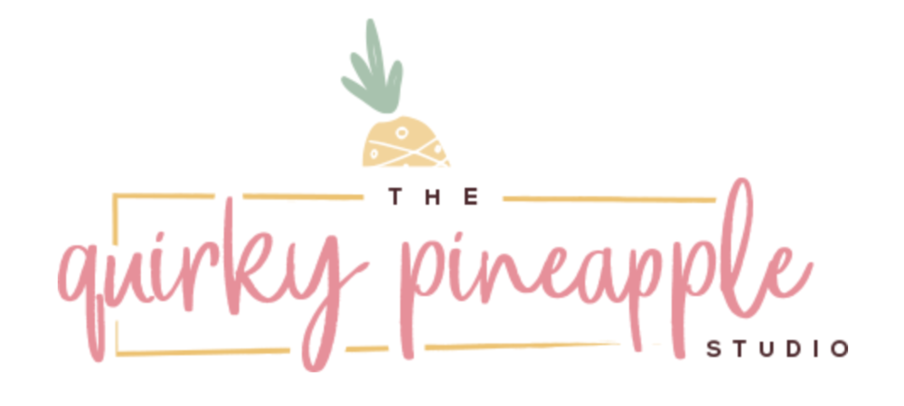 The Quirky Pineapple Studio Logo