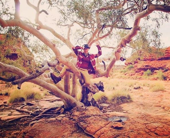 Climbin' trees, rodeo style 🌲🤠 #treehaw!