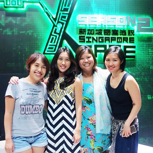 """Nenny, myself (Lynn), Vanessa & Emily after completing Xcape's """"Annabelle"""""""
