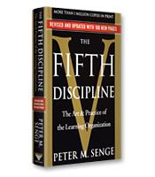 THE FIFTH DISCIPLINE  Peter Senge    BUY THE BOOK