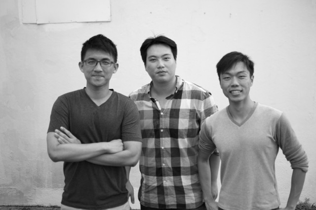 Founders Yong Xiang, Jonathan and Jeremy
