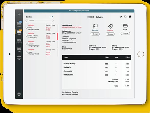 Restaurant Online Ordering: Ipad App for Order Management