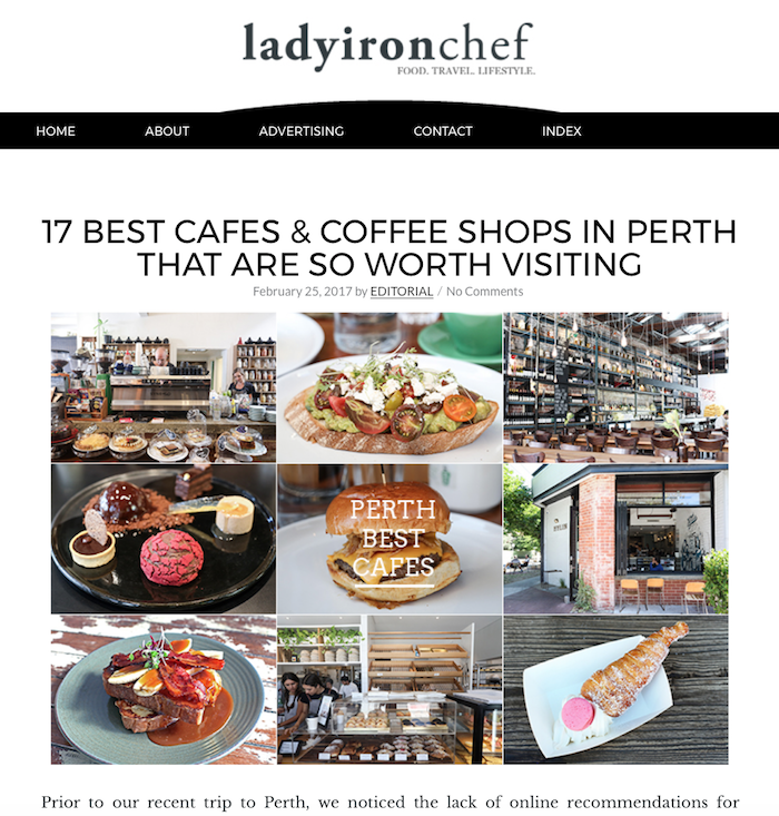 Ladyironchef is a Singaporean food blogger whose significant following continues to grow.