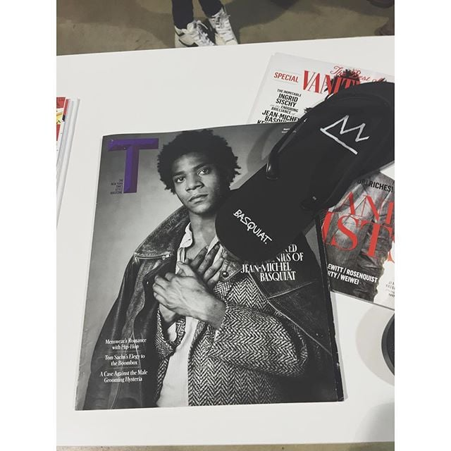 More #basquiat at @agendashow