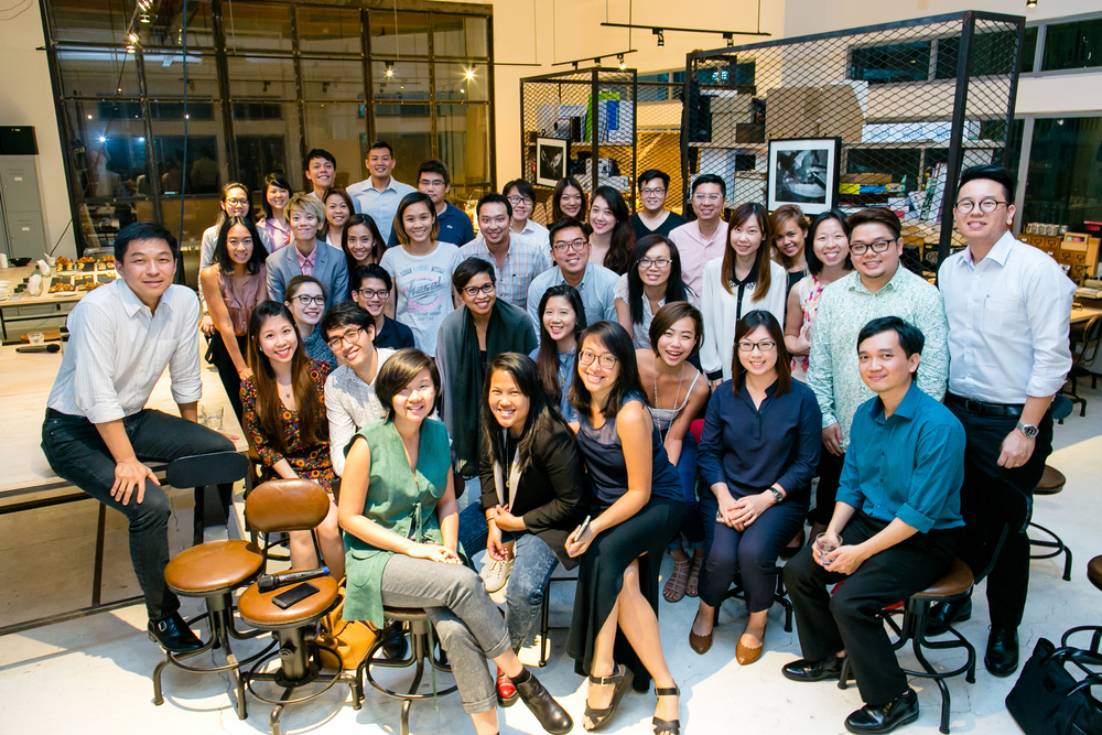 50 For 50 Changemakers with Minister Tan Chuan Jin at their inaugural dialogue session held December 2015.