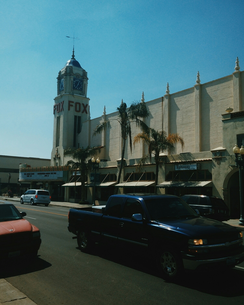 the Fox Theatre in Bakersfield where we played at. Dopeness