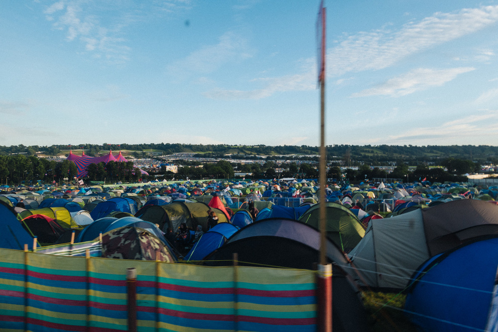 Just HALF of the camping section alone is as big as some festivals i've been to.