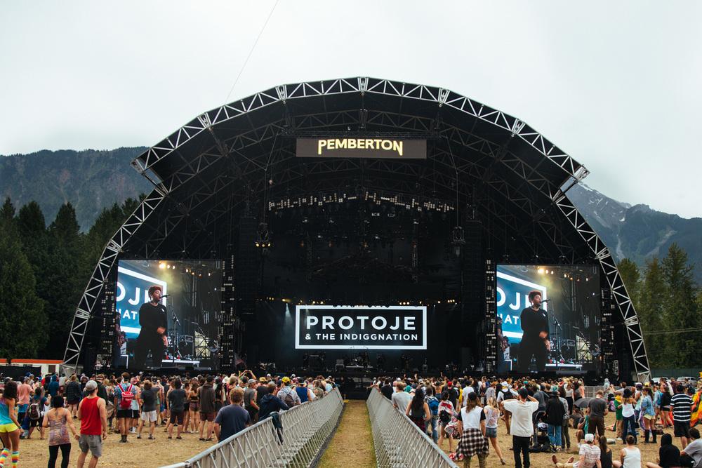 Pemberton Main Stage