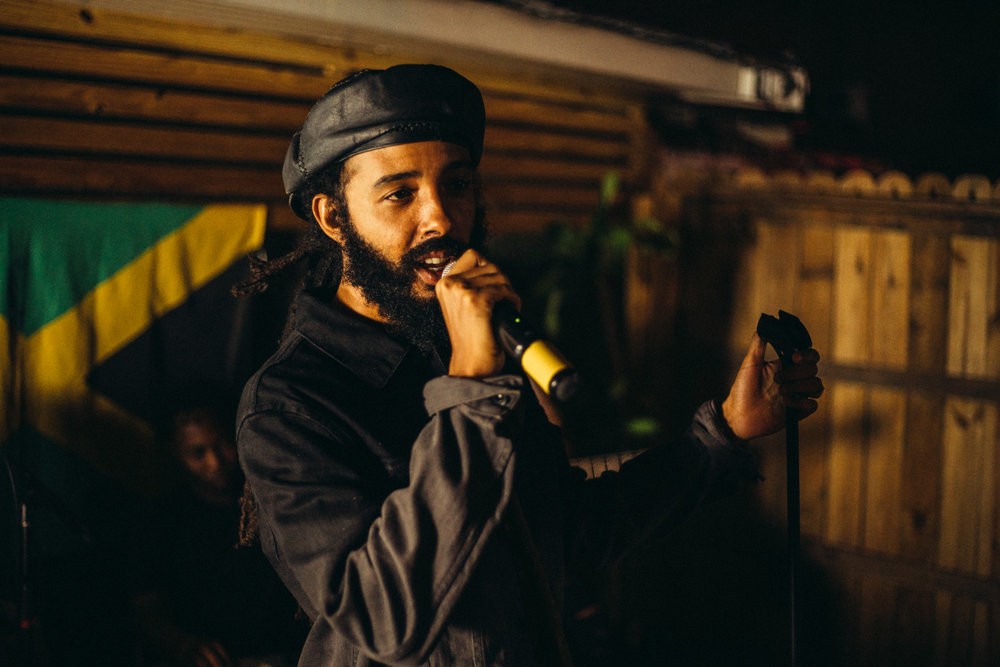 Protoje, one of the organizers of New Wave