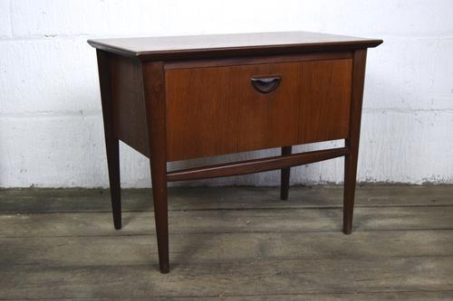 office furniture desk vintage chocolate varnished. Office Furniture Desk Vintage Chocolate Varnished. Mid Century Danish  Bedside Table 3.jpg Varnished D