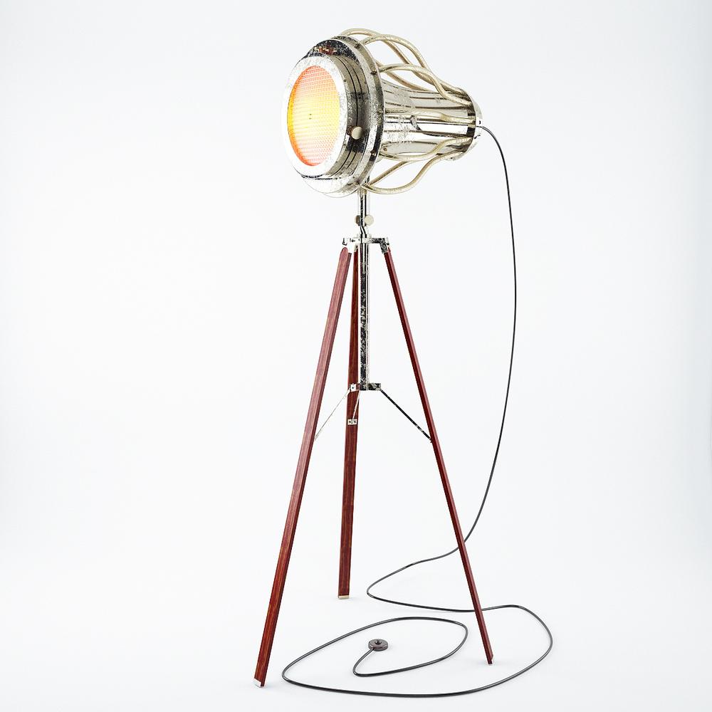 x tripod lamp