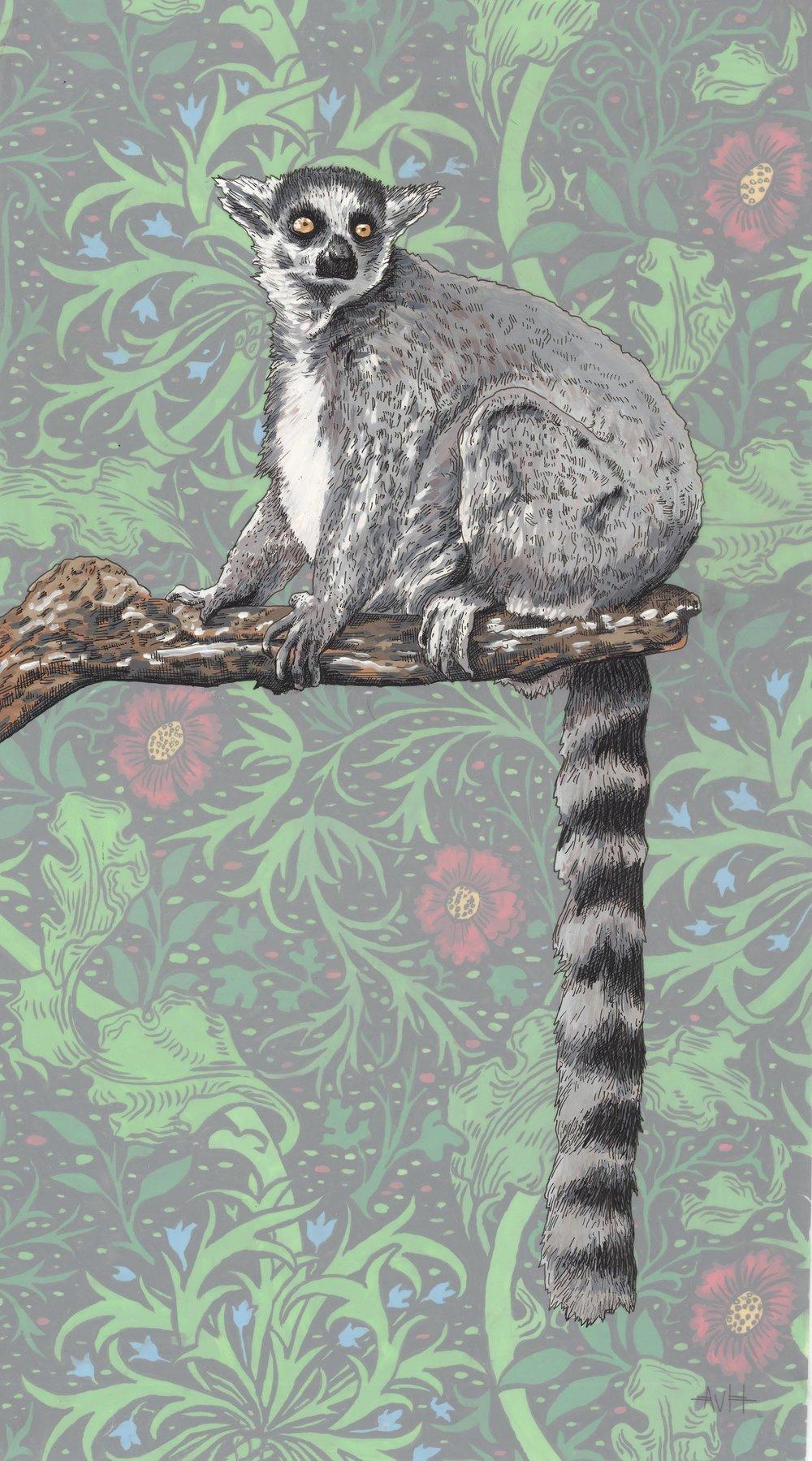 Botanical Lemur II