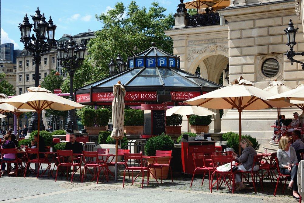 Opernplatz cafe, Frankfurt