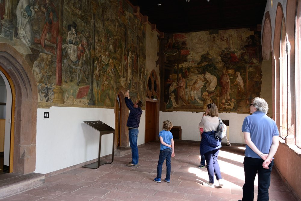 Jörg Ratgeb frescos at the Karmelitekloster