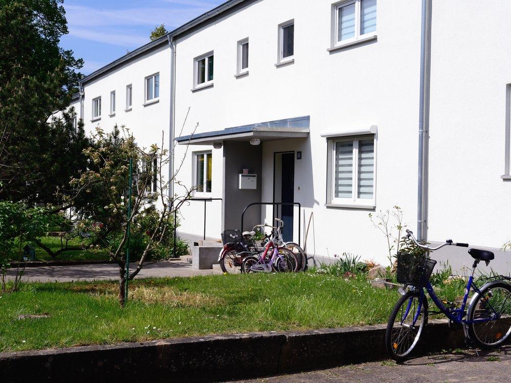 Ernst May housing in Römerstadt