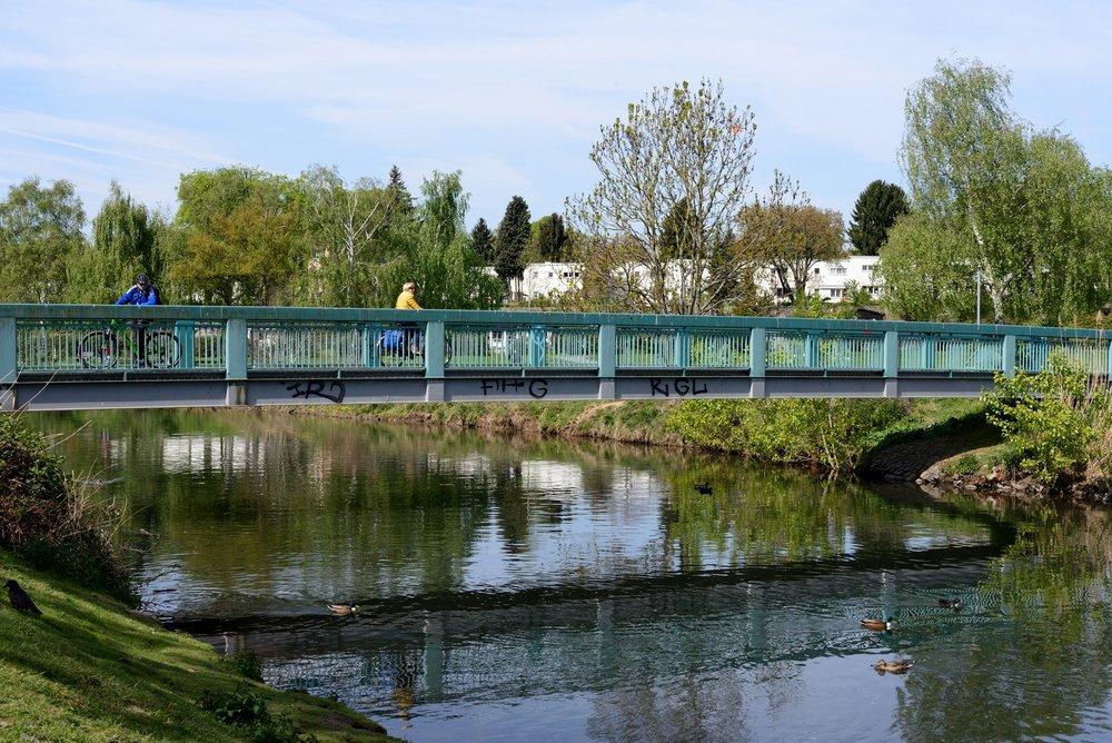 Bridge at Am Bubeloch, looking downstream