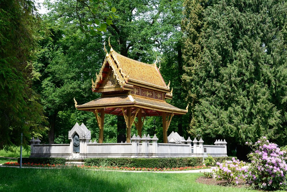 Buddhist temple, Bad Homburg