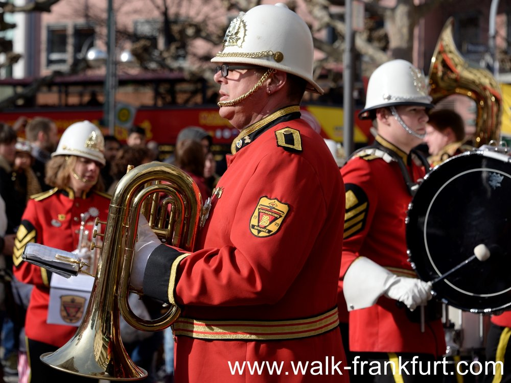 A military band costume