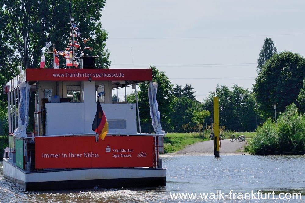 Höchst to Schwanheim ferry
