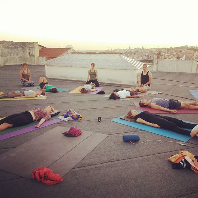 #rooftop #thaimassage #lisbon #hereandnowportugal
