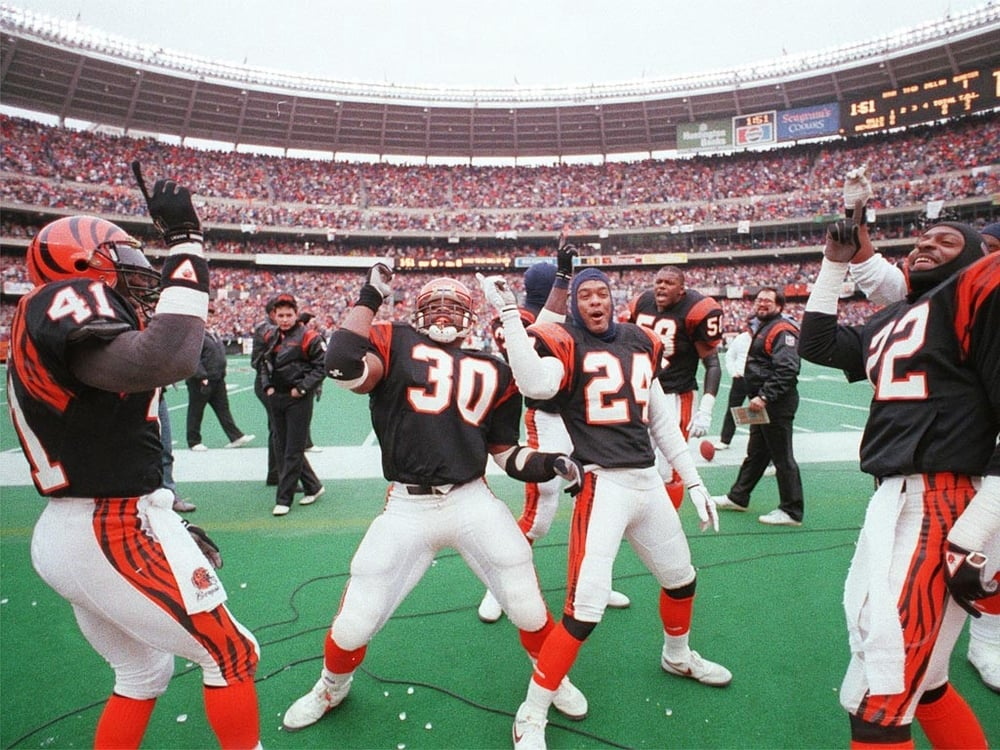 Photo courtesy of   bengals.enquirer.com . That's my city!