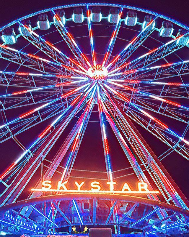 Round and Round 🎡 #skystar #30daycontentchallengeday8