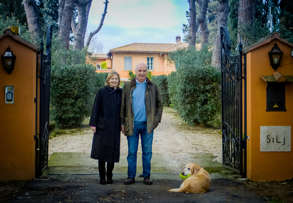 Eleonora and Bernard, Villa Silj Owners