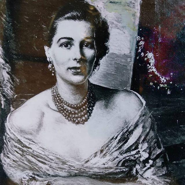 Marchioness#AnnaFrancesca Silj#portrait# byPaulo Ghiglia#