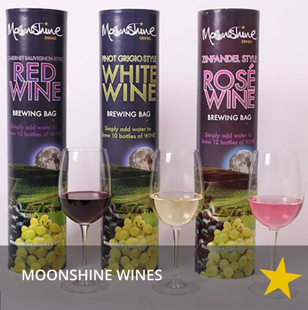 Moonshine wines
