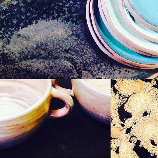 Ceramics - my passion😍 new stuff finished... www.trinefournais.dk #trinefournaisceramics #keramik #design #kitchenware #coffee #ceramics#craft#interior #frederiksberg #gammelkongevej #copenhagen #shopping
